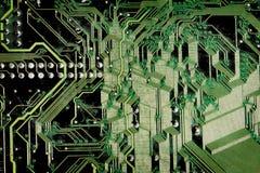 Texturas: Placa de circuito de Grunge Imagem de Stock