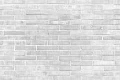 Texturas preto e branco do fundo da parede de tijolo do Grunge foto de stock royalty free