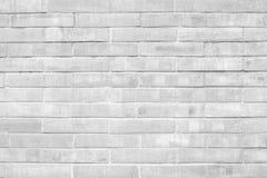 Texturas preto e branco do fundo da parede de tijolo do Grunge fotos de stock royalty free