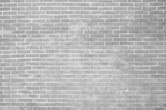 Texturas preto e branco do fundo da parede de tijolo do Grunge fotografia de stock