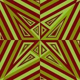 Texturas que ponen en contraste ópticas geométricas inconsútiles Fotografía de archivo