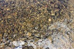Texturas, superfície, rocha, tocha da água Imagem de Stock