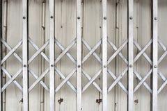 Texturas tailandesas de la casa de la puerta Imagen de archivo