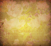 Texturas velhas da flor de papel fotografia de stock