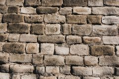 Texturas velhas da parede de tijolo fotografia de stock royalty free
