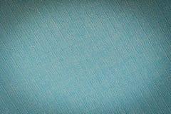 Texturas verdes velhas do algodão Foto de Stock Royalty Free
