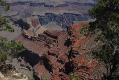 Texturas y colores de Grand Canyon Fotografía de archivo libre de regalías