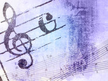 Texturas y fondos de la melodía de Grunge Imagen de archivo