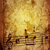 Texturas y fondos de la melodía de Grunge Foto de archivo