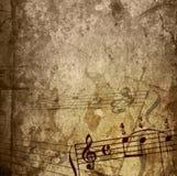 Texturas y fondos de la melodía de Grunge Fotos de archivo libres de regalías