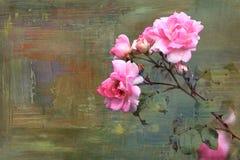 Texturas y fondos del extracto de la flor stock de ilustración