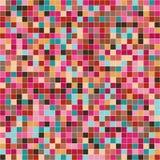 Texturbakgrund för mosaiska tegelplattor Arkivfoton