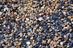 Texturbakgrund för vete och för blå sten Royaltyfri Fotografi