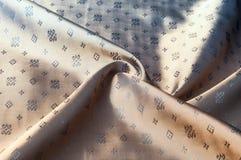 Texturbakgrundsmodell Brunt siden- tyg Abstrakt backgrou Royaltyfri Foto