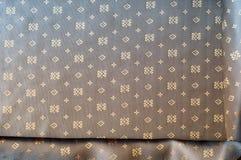 Texturbakgrundsmodell Brunt siden- tyg Abstrakt backgrou Arkivbild