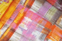 Texturbakgrundsmodell Siden- tunt tyg, abstrakt modellnolla Fotografering för Bildbyråer