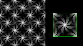 Texturblommor av mörker Fotografering för Bildbyråer