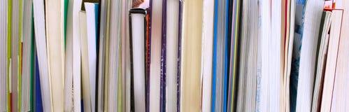 Texturbokbunt eller lineup arkivbild