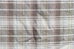 Texture à carreaux de rideau Images stock