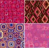 Texture à la mode réglée. Images libres de droits