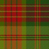 Texture écossaise de tissu Photos libres de droits