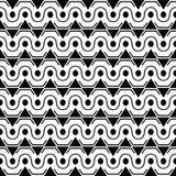Texture élégante sans couture avec le style, la triangle et le cercle antiques illustration stock