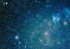 Texture étoilée de fond d'espace extra-atmosphérique Espace lointain Image libre de droits