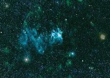 Texture étoilée de fond d'espace extra-atmosphérique Espace lointain Photo stock