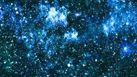 Texture étoilée de fond d'espace extra-atmosphérique Espace lointain Image stock