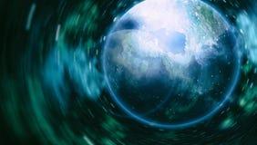 Texture étoilée de fond d'espace extra-atmosphérique Espace lointain Images stock