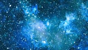 Texture étoilée de fond d'espace extra-atmosphérique Espace lointain Photographie stock libre de droits
