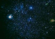 Texture étoilée de fond d'espace extra-atmosphérique Espace lointain Photographie stock