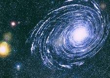 Texture étoilée de fond d'espace extra-atmosphérique Espace lointain Photos libres de droits