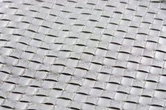 Texture. Silver checkered texture Stock Photography