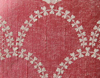 Texture. A vintage red and white decoration Royalty Free Stock Image