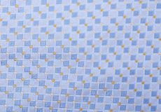 Texture. Blue and yellow abstract texture. Fabric background royalty free stock photos