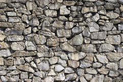 Texture #15. The wall of large stones Stock Image