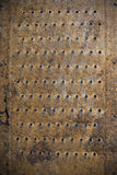 Texture. A closeup of an old rusty grater Royalty Free Stock Photo