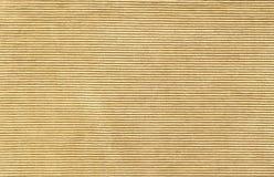 Texture. Yellow velveteen texture background, horizontal lines Royalty Free Stock Photo
