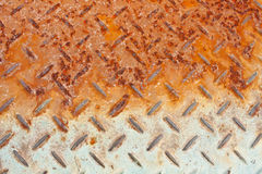 Texture. Rust of metal old texture Stock Photos
