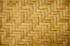 Texture. Bamboo basket making in thailand Royalty Free Stock Photos