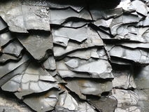 Texture. New Slate Stone Wall - Background Texture Stock Photos