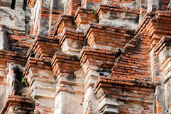 Texture. The old Temple background Royalty Free Stock Photography