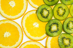 Texture. Background with tropical fruit.  Healthy Eating Royalty Free Stock Photos