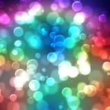 A texture, abstract background is colorful bokeh light from sun. Texture, abstract background is colorful bokeh light from sun for happy new year day, christmas vector illustration