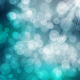 A texture, abstract background is colorful bokeh light from sun Royalty Free Stock Photo