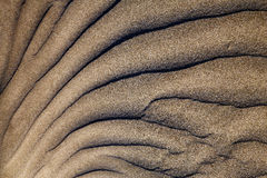 Texture abstract beach lanzarote Royalty Free Stock Photo