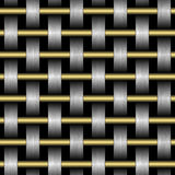 Texture of abstract grid on a black background Royalty Free Stock Photos