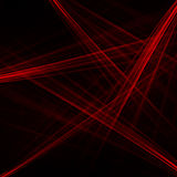 Texture of abstract red laser line rays background. Royalty Free Stock Photography