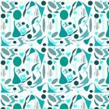 Texture abstraite avec de belles formes géométriques illustration stock
